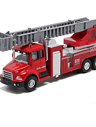 cheap -Toy Cars Die-Cast Vehicles Pull Back Vehicles Fire Engine Vehicle Toys Others Fire Engines Metal Alloy Pieces Unisex Gift