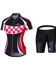Недорогие -Велокофты и велошорты-комбинезоны Велоспорт Джерси + велошорты Джерси + велотрусы Джерси Шорты с защитойПолиэстер 100% полиэстер Терилен