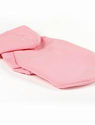 Cane Tuta Abbigliamento per cani Casual Tenere al caldo Lettere & Numeri Fucsia Rosso Verde Blu Rosa