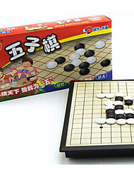 cheap -Board Game Chess Game Gobang Toys Magnetic Square Plastic Pieces Unisex Gift