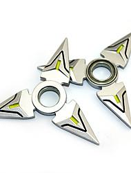 Mais Acessórios Fidget Spinner Inspirado por Overwatch Ao Anime Acessórios para Cosplay Metalic