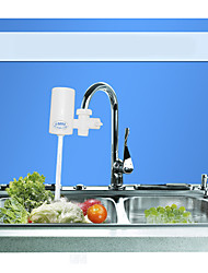 Conjunto Central Filtração de Água Monocomando e Uma Abertura Torneira de Cozinha