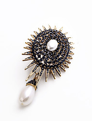 cheap -Women's Brooches - Personalized, Fashion, Euramerican Brooch Black For Wedding / Party / Special Occasion