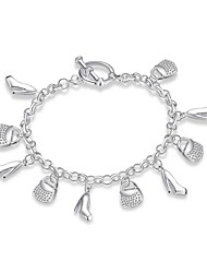 abordables -Homme Chaînes & Bracelets Charmes pour Bracelets BijouxTatouage Naturel Amitié Hip-Hop Pierre Turc Gothique Mode Vintage Bohême Style