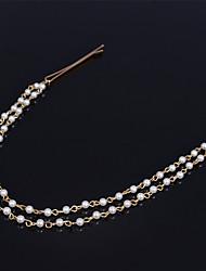 Shixin® Imitation Pearl Headbands Wedding/Party/Daily/Casual 1pc
