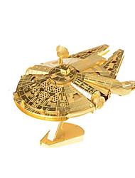 Недорогие -3D пазлы Металлические пазлы Веселье Дерево Классика Детские Универсальные Игрушки Подарок