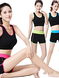 cheap -Yoga Tank Shorts Underwear Shorts Top Bottoms Stretchy Sports Wear Fengtu,Yoga Pilates Exercise & Fitness Leisure Sports Running