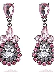 Drop Earrings Rhinestone Women's Girls' Droplets Style Euramerican Fashion Dailywear Party  Movie Jewelry