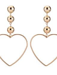 Stud Earrings Drop Earrings Women's Girls' Euramerican Simple Style Friendship Fashion Dailywear Party Thank You Movie Jewelry