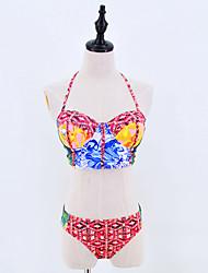 Women's Sexy Bikini Set Summer Fashion Swimsuit Padded Wireless Swimwear Size S-XL