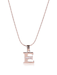 cheap -Men's Women's Alphabet Shape Personalized Luxury Unique Design Dangling Style Sexy Magnetic Therapy Multi-ways Wear Initial Jewelry