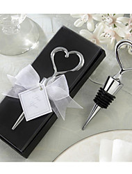 Chrome Bottle Favor Bottle Openers Classic Theme Non-personalised Black Beter Gifts® Tea Party Favor