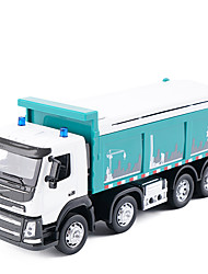 cheap -Dump Truck Toy Truck Construction Vehicle Toy Car Music & Light Metal Unisex Kid's Toy Gift