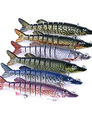 economico -6 pc Jerkbaits Pesciolini A pelle di coccodrillo g/Oncia mm pollicePesca di mare Spinning Pesca con esca Pesca dilettantistica Lenze