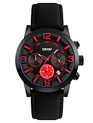 cheap -SKMEI® 9147  Men's Woman Watch Men's Woman Watch Personalized Business Men Watch Creative Fashion Watch Wild Quartz Watch 30 Meters Waterproof
