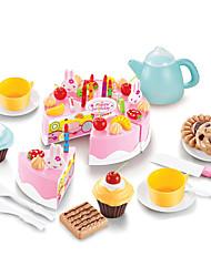 abordables -Nourriture Factice / Faux Aliments Jouet Couteaux à Gâteau & Biscuit Gâteau Plastique Fille Enfant Cadeau