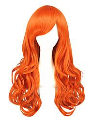 Недорогие -Парики из искусственных волос / Маскарадные парики Кудрявый Блондинка Искусственные волосы Блондинка Парик Жен. Средние Без шапочки-основы