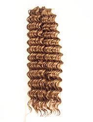 Недорогие -Волосы для кос Классика / Крупные кудри Накладки из натуральных волос 1шт / уп косы волос Повседневные / В одной упаковке есть 2 штуки. Обычно для полной головки достаточно 5-7 пакетов.