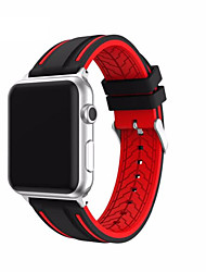 cheap -Watch Band for Apple Watch Series 3 / 2 / 1 Apple Classic Buckle Silicone Wrist Strap