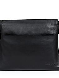 cheap -Men Bags Cowhide Crossbody Bag Smooth for Business Casual Formal School Date Work Office & Career All Seasons Black Dark Brown