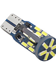 baratos -SO.K T10 Motocicleta Lâmpadas 3 W SMD 4014 180 lm LED