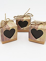 Недорогие -50pcs beter gifts®wedding favor box