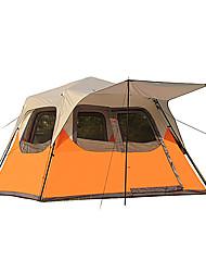 CAMEL 5-8 persone Tenda a cabina Tenda Doppio Tenda da campeggio Una camera Tenda ripiegabile Antiumidità Ompermeabile per Campeggio