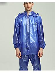 cheap -Men's Hiking Raincoat Outdoor Waterproof Raincoat Camping / Hiking
