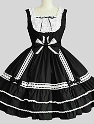 cheap -Gothic Lolita Dress Princess Women's Teen Girls' JSK / Jumper Skirt Cosplay Sleeveless