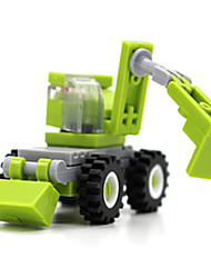 cheap -Building Blocks Excavator Toys Square Excavating Machinery Unisex Boys Pieces