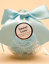 21 Шт./набор Фавор держатель-Шарообразные Пластик Коробочки Горшки и банки для конфет Подарочные коробки Без персонализации