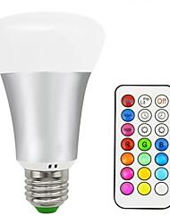 Недорогие -1шт 10 W 700 lm E26 / E27 Умная LED лампа 16 Светодиодные бусины SMD 5050 На пульте управления / Декоративная / Градиент цвета Тёплый белый / RGB 85-265 V / 1 шт. / RoHs