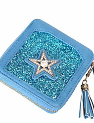 cheap -Women Bags PU Money Clip Rhinestone Sequin Pearls for Office / Career Shopping Daily Ceremony Casual Party & Evening Office & Career All