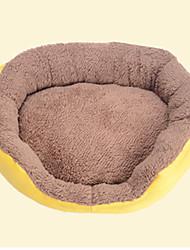 Недорогие -Кошка Собака Кровати Животные Коврики и подушки Однотонный Компактность Дышащий Оранжевый Желтый Синий Розовый