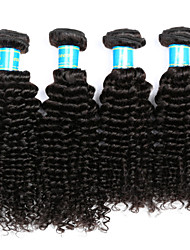 cheap -Vinsteen Peruvian Kinky Curly Hair Weave 4 Bundles Unprocessed Human Hair Extensions Natural Human Hair Weave For Black Women