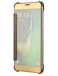 cheap -For Samsung Galaxy J7 J5 (2017) Case Cover Plating Mirror Drop Clamshell Phone Case J3 (2017) J1 J5 J7 On5 0n7 (2016) J2 J5 J7 (Prime)