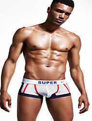 cheap -Men's Ultra Sexy Panties Solid Colored Low Rise