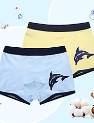 cheap -Boys' 2pcs Cotton Underwear Box (3-12 Years Old)