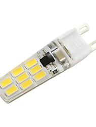 baratos -3W 200-250lm G9 Luminárias de LED  Duplo-Pin T 16 Contas LED SMD 5730 Branco Quente Branco Frio 220-240V