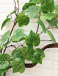 Недорогие -240cm высокая симуляция виноградных листьев искусственные цветы домашнее украшение 2шт