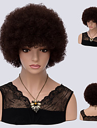 cheap -Dark Auburn Culry Sexy Fashion Natural Wig for Afro Women Hot Design High Quality Heat Resistant