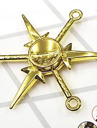 abordables -Fidget Spinner Inspirado por Naruto Itachi Uchiha Animé Accesorios de Cosplay Cromado