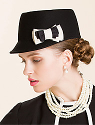 cheap -Wool Hats with 1 Special Occasion / Casual / Outdoor Headpiece