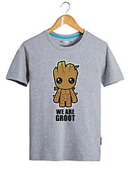 cheap -Super Heroes Movie/TV Theme Costumes Cosplay Costume Anime Hoodies & Sweatshirts Movie Cosplay Gray T-shirt Halloween Carnival Cotton