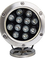 cheap -12W Underwater Lights Rechargeable RGB DC 12V