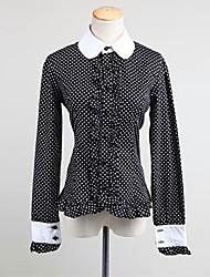 cheap -Classic Lolita Dress Princess Women's Teen Girls' Blouse/Shirt Cosplay Long Sleeves