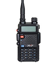 economico -Tyt th-uvf8 walkie talkie 5w vhf uhf 136-174400-480mhz 256ch dtmf 8 gruppo scambler fm radio dual band doppio display dual standby due way