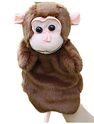 cheap -Finger Puppets Puppets Toys Monkey Animal Cute Animals Lovely Tactel Plush Children's Pieces