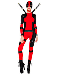 cheap -Inspired by Assassin Abel Nightroad Video Game Cosplay Costumes Cosplay Suits N/A Long Sleeve Leotard Belt More Accessories