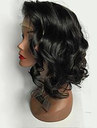 Parrucche bobine dei capelli brasiliani di moda 2017 parrucche anteriori allungate del merletto onda parrucche bionde parrucche verdi